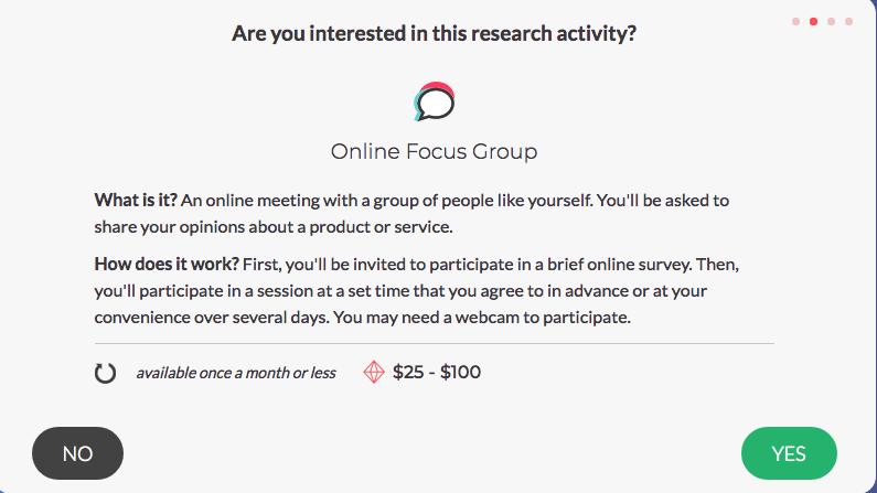 SurveyJunkie - Online Focus Group