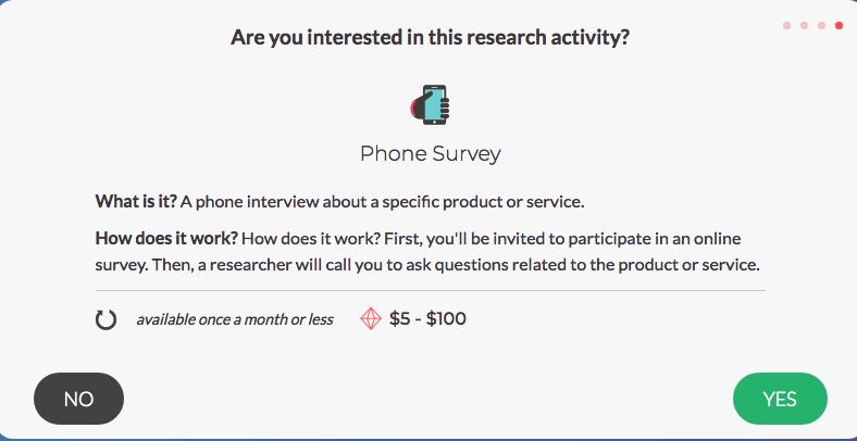 SurveyJunkie - Phone Survey