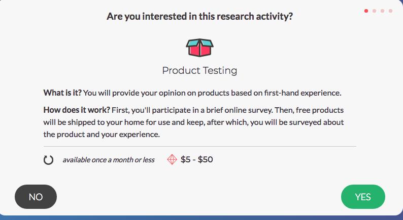 SurveyJunkie - Product Testing