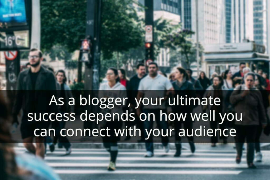 start blogging tips - target audience